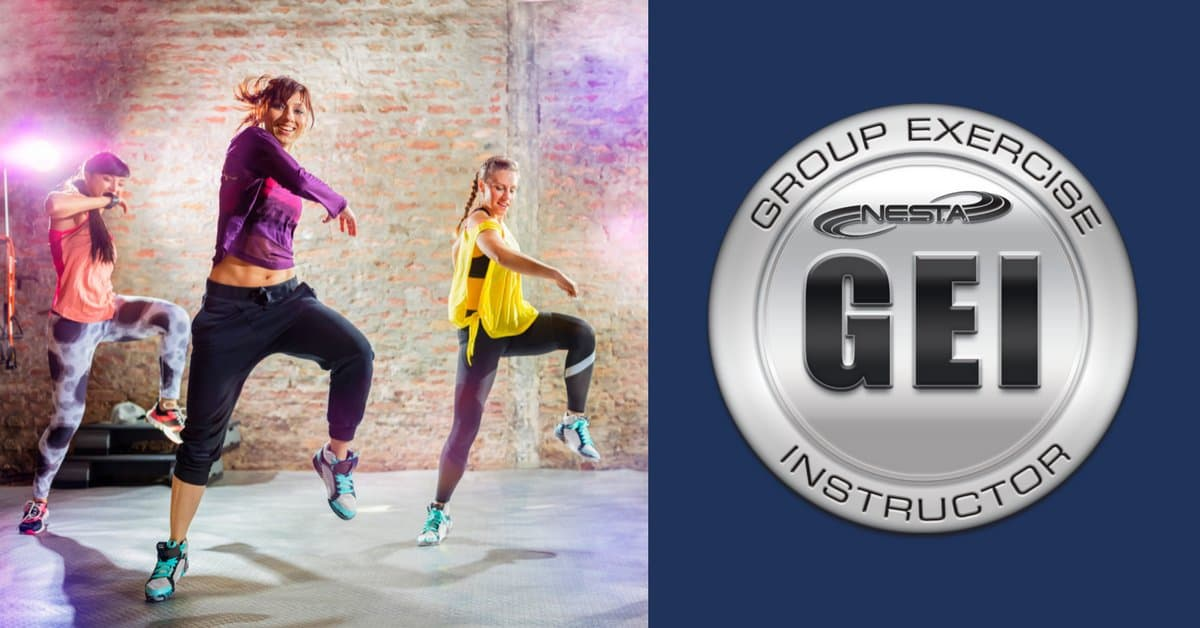 Earn the title of a Certified Group fitness Instructor from NESTA